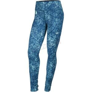 Klim Women's Blue Solstice 2.0 X-LARGE Base Layer Pants - 3202-002-150-200