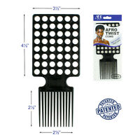 Afro & Twist Comb Lock Barber Favored Fast Action Wave 360 Salon Quality Square