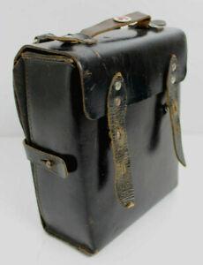 Original Vintage Verbandtasche Leder *First Aid Bag Leather *Trousse De Secours