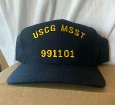 New Uscg baseball hat cap Us Coast Guard Maritime Safety Security Team 991101