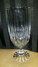 "Mikasa PARK LANE Clear Iced Tea Glass 7.5"" Tall Retired"