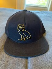 Original OVO Flat Brim Owl Hat