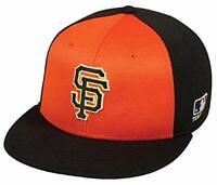 San Francisco Giants MLB OC Sports Flat Orange Black Hat Cap Adult Adjustable
