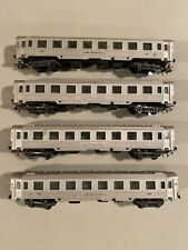 HO Lima Le Mistral Paris Nice Passenger Car Coach - Lot of 4 Coaches