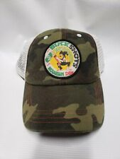 Mountain Dew Camo Buckshots Soda Pop Beverage Drink ADVERTISING Trucker HAT NEW
