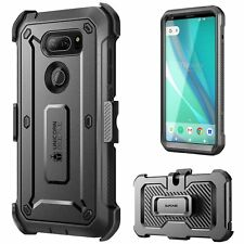 LG V30 Case, SUPCASE Full-body Rugged Holster Case with Built-in Screen Protecto