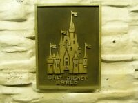 Walt Disney World Magic Kingdom Castle plaque