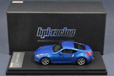 1/43 Nissan Fairlady Z 370Z 2009 Blue HPI 8429  Resin 1:43 scale car model