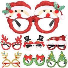 Adult Kids Christmas Party Glasses Santa Snowman Tree Deer Xmas Decor Toys Gifts