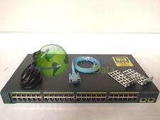 Cisco WS-C2960-48TT-L Catalyst 2960-48TT Ethernet Switch Used