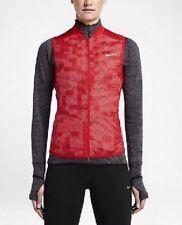 Nike WOMENS AEROLOFT 800 FLASH Medium Reflective Gilet Vest Red RRP £139
