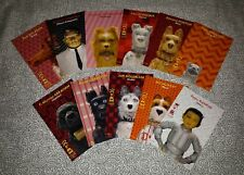 Isle of Dogs Postcard Set Wes Anderson Collector Postcards Prints Bill Murray