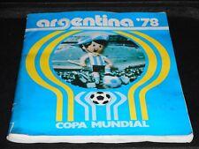 ***ALBUM ARGENTINA 78 COP'A MUNDIAL*** ED. LA GAZZETTA DELLO SPORT COMPLETO !!!
