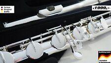 YAMA. Bass Flute Flauto basso Flûte traversière basse Basstraverseflute  silver