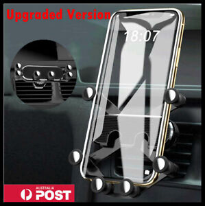 Gravity Car Phone Holder Air Vent Mount 360° Stand Cradle GPS For Mobile Phone