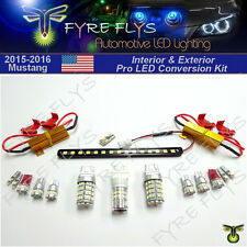 LED Interior & Exterior Conversion Upgrade package for 2015 & Up Mustang #2