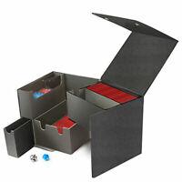 ULTRA PRO BLACK CUBE (CUB3) JUMBO DECK BOX BRAND NEW AWESOME DEAL!!