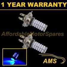 2x H4 Blue 120 Led Frontal principal de irradiación & húmedas Beam Faros Kit De Xenon hm501002