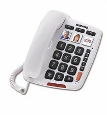 TELEFONO TECLAS GRANDES GÓNDOLA NEGRO SIMPLE - BRONDI NEMO