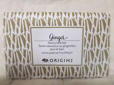 Origins Ginger Savory Bath Bar 7 oz (200 g) Full Size Sealed