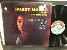 BOBBY MOORE~RHYTHM ACES~SEARCHING FOR MY LOVE~ORIG 1966 CHECKER LP~SHRINK~R+B