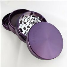 "Sharpstone Herb & Tobacco Grinder 2.5"" Inch 4 Piece Aluminum Authentic Purple"