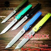 Ball Bearing Knives Pocket Folding Knife G10 Camping Hunting Survival Tactical