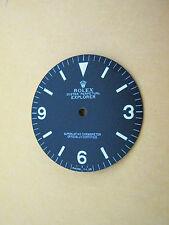 ~ Rolex #1016 Vintage Explorer Matte Black Refinished Dial ~