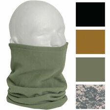 Polar Fleece Military Neck Gaiter Warmer Cold Weather Cover Scarf Tube Neckwear