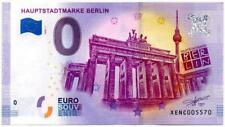 Billet touristique 0 Euro - Allemagne - Berlin - Hauptstadtmarke (2020-1)