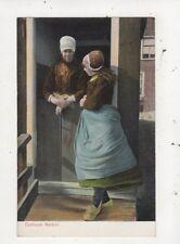 Costuum Marken Netherlands Vintage Postcard 027b