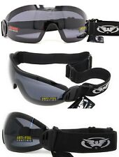 Smoked/tinted Goggles 4 Skydiving Parachuting Paragliding and Freefall Inc