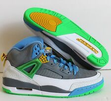 NIKE AIR JORDAN SPIZIKE STEALTH GREY-GREEN-BLUE SZ 18 EASTER! [315371-056]