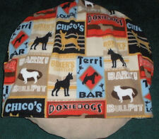 SMALL DOG-CAT BED SLEEPING BAG, DOGGIE LOUNGE , COMFY COZY
