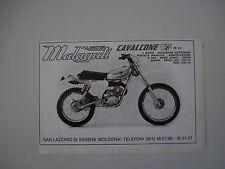 advertising Pubblicità 1976 MOTO MALAGUTI CAVALCONE HF 50