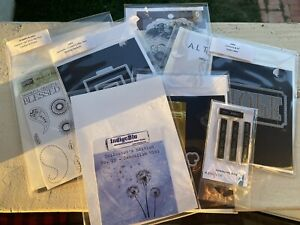 Bundle of 8 Stamps and Dies Sets: Stampin' Up, Sizzix, Big Shot, Altenew