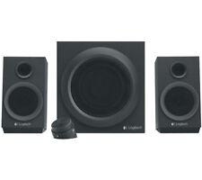 LOGITECH Z333 Multimedia 2.1 PC Speakers Black
