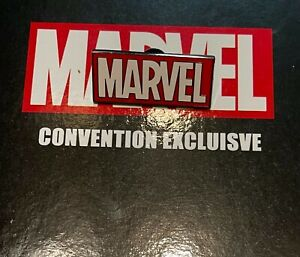 Marvel Fan Expo Exclusive Pin Set MARVEL COMICS LOGO Raised Pin Limited Edition