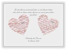 Geschenkidee Valentinstag Jahrestag Bild für den liebsten oder die liebste NEU