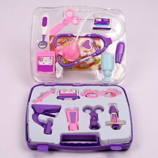 Kids Children Role Play Pretended Doctor Nurse Medical Carry Case Toy Set Kit