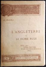 William Ewart Gladstone, L'angleterre et le home rule, Ed. Henri Gautier, 1891