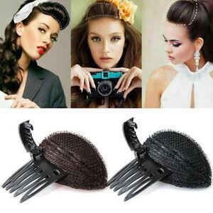 Sponge Hair Bun Clip Maker Princess Styling Hair Fluffy Sponge Pad Hair To P4