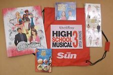 High School Musical 3: Senior Year 2008 UK promotional only press set