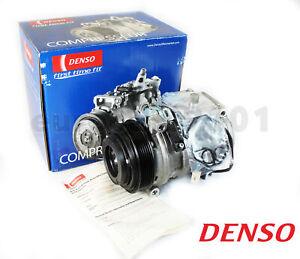 New! Mercedes-Benz S500 DENSO A/C Compressor and Clutch 471-1234 0002340011