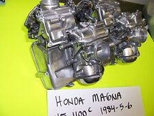 HONDA V65, vf 1100 c  MAGNA SET OF KEIHIN CARBS CARBURETORS