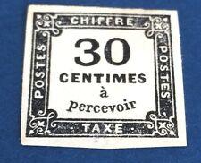 France Taxe N° 6 30 c Noir NSG TTB Présentation Et Qualité Côté 350€