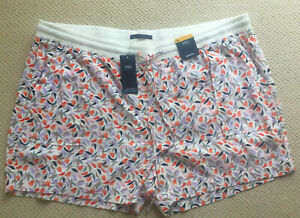 Ladies M&S Plus Size 24 Easy to Iron Linen Rich Floral Print Shorts