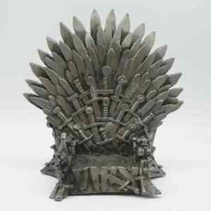 Game of Thrones The Iron Throne Stark's Sword Chair Figure 6'' Resin Model BULK