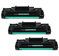 3 Pack Toner Cartridge Black For Dell 1100 1110 Laser Printers ML-2010 ML-2510