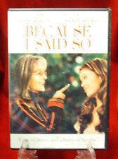 DVD - Because I Said So (Fullscreen / 2007)